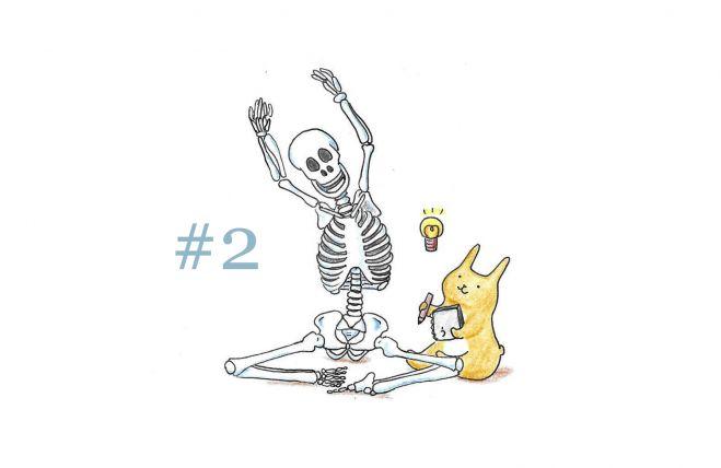 からだの学校~解剖学② 2017年5月7日【日曜クラス@スタジオエール】(北海道)