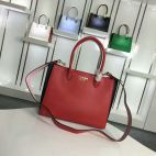 Prada 1BA087 Tote In Red/Pink